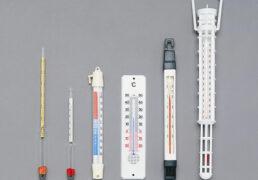 Klaas-, metall-, plastiktermomeetrid